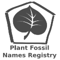 Plant Fossil Names Registry logo